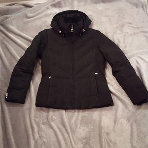 Zeroxposur black down jacket.